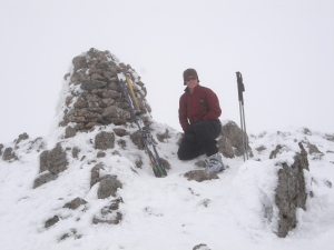 Me on the summit of Raise