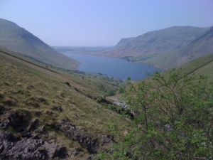 Looking back to Wastwater from near the ford