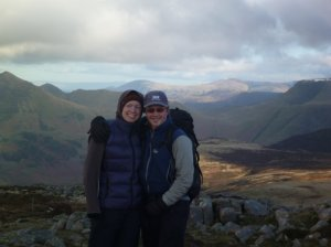 Us on the summit of Great Borne